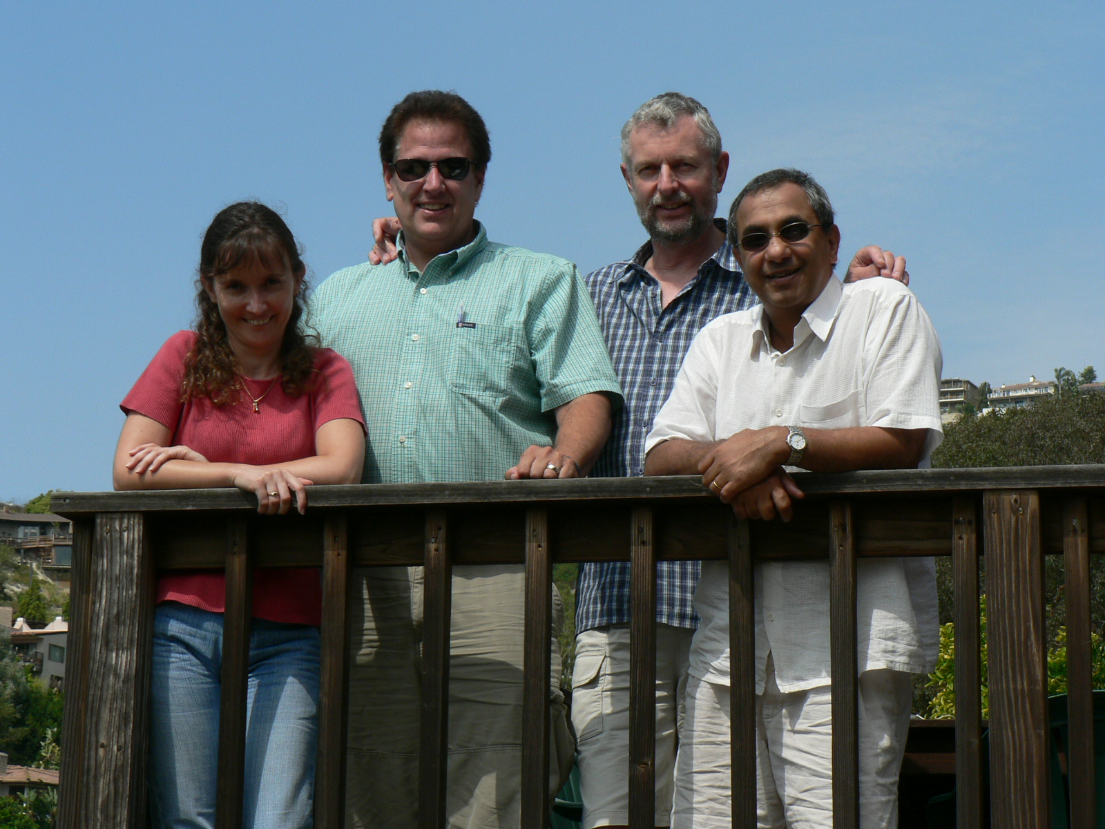 : Drs. Beeton, Pennington, Norton, and Chandy in 2008 in Southern California