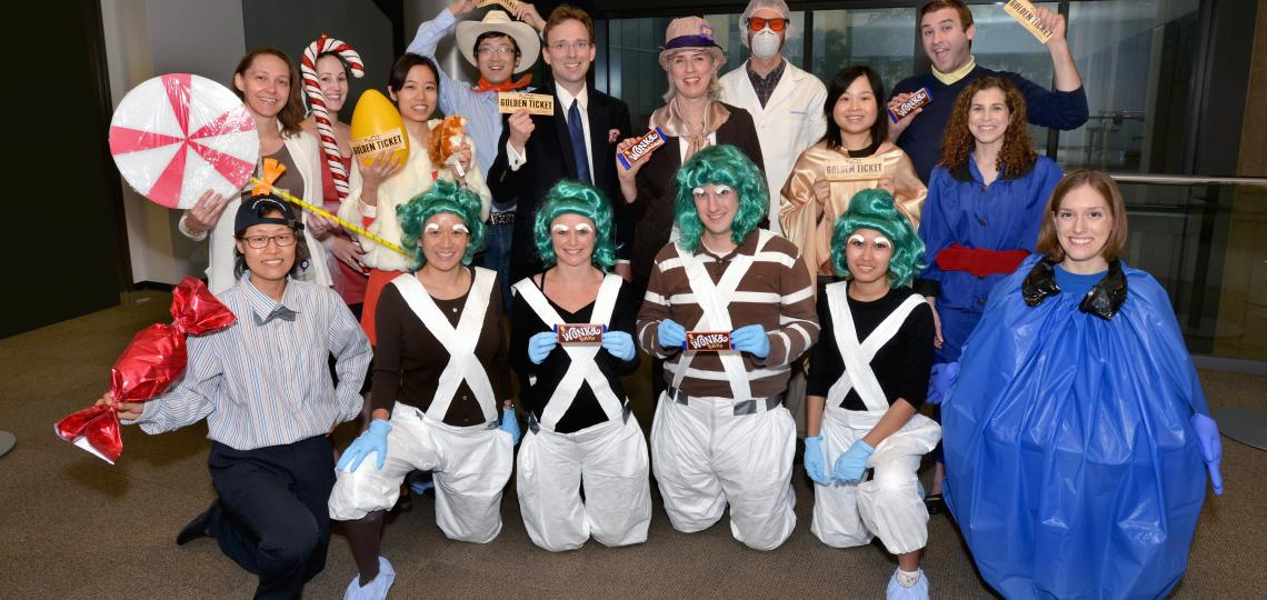Dr. Peggy Goodell's Lab Halloween 2013