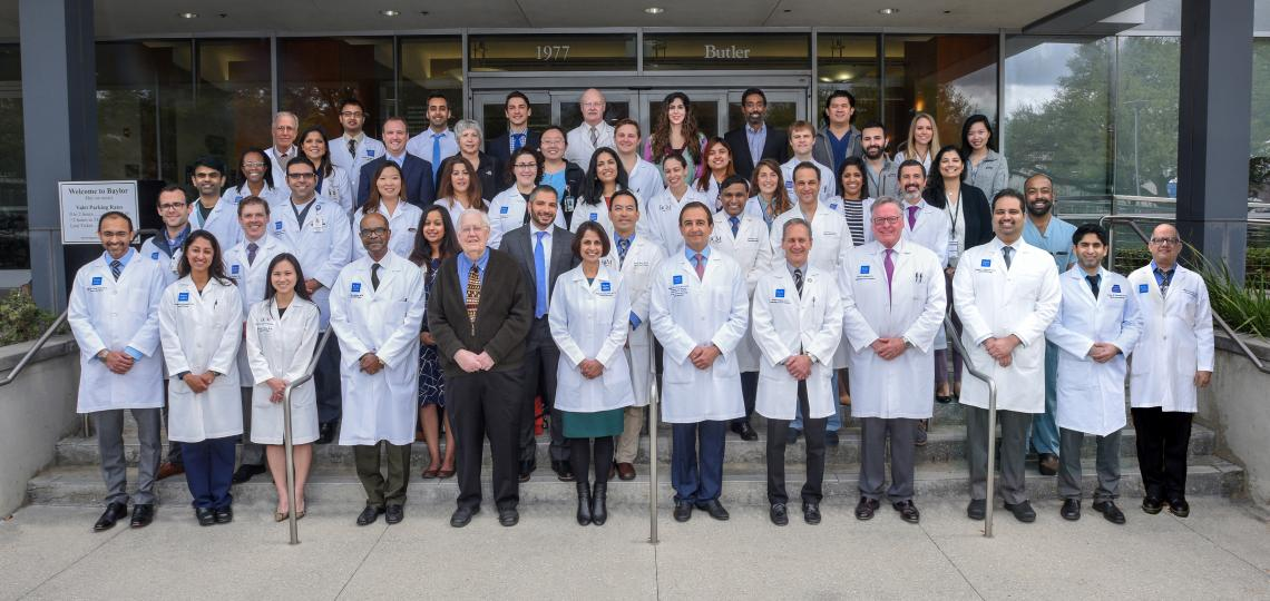 Gastroenterology Faculty group picture.