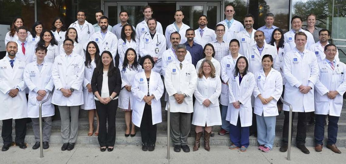 Section of Pulmonary, Critical Care, and Sleep Medicine faculty and staff