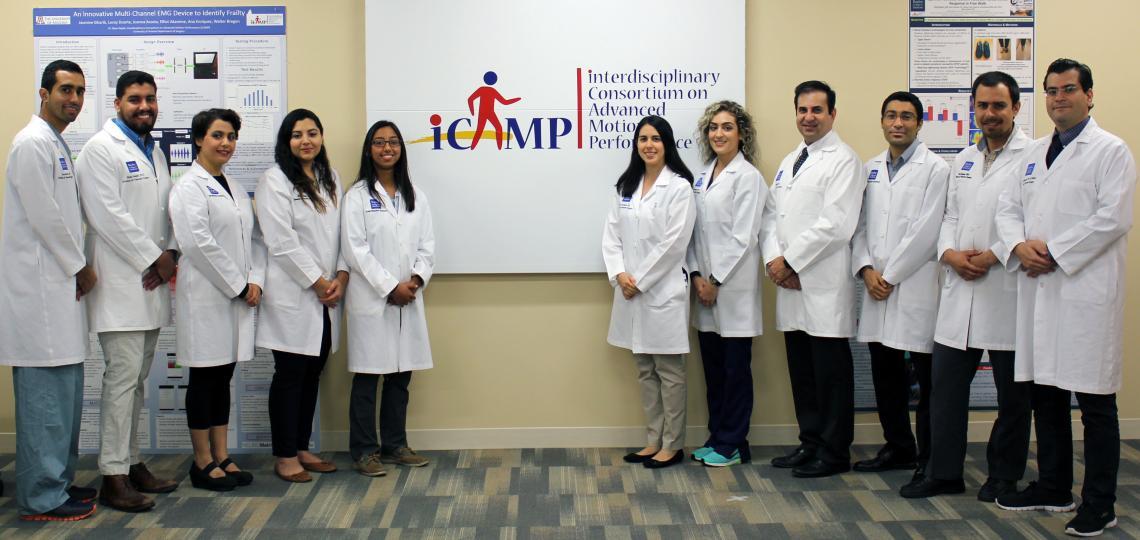 iCAMP 2017 team members