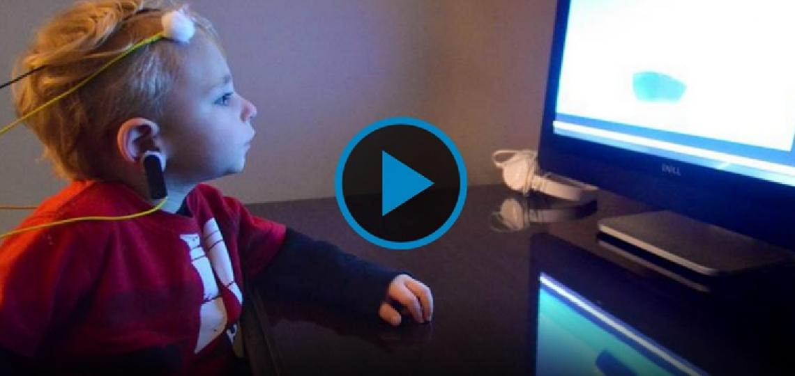 Two year old Malcolm and his mom, Danielle, share how CMV impacts their lives every day.