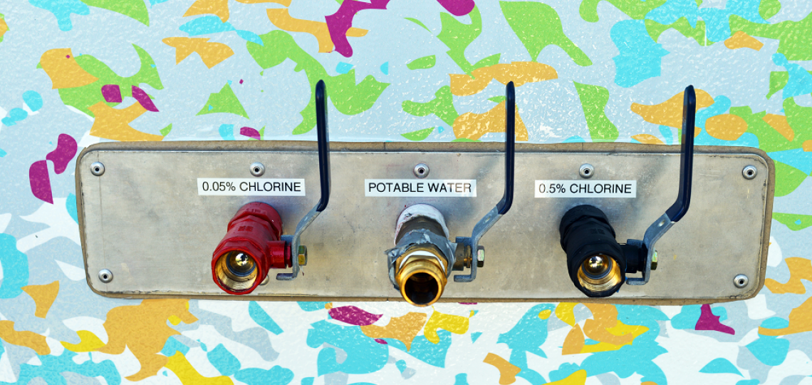 Smart Pod Water hookups.