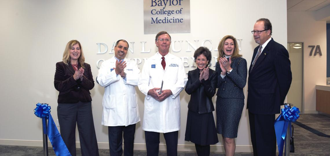The ribbon was cut and the doors opened on the new clinical home of the Dan L Duncan Comprehensive Cancer Center.