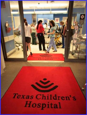Entrance to Texas Children's Hospital