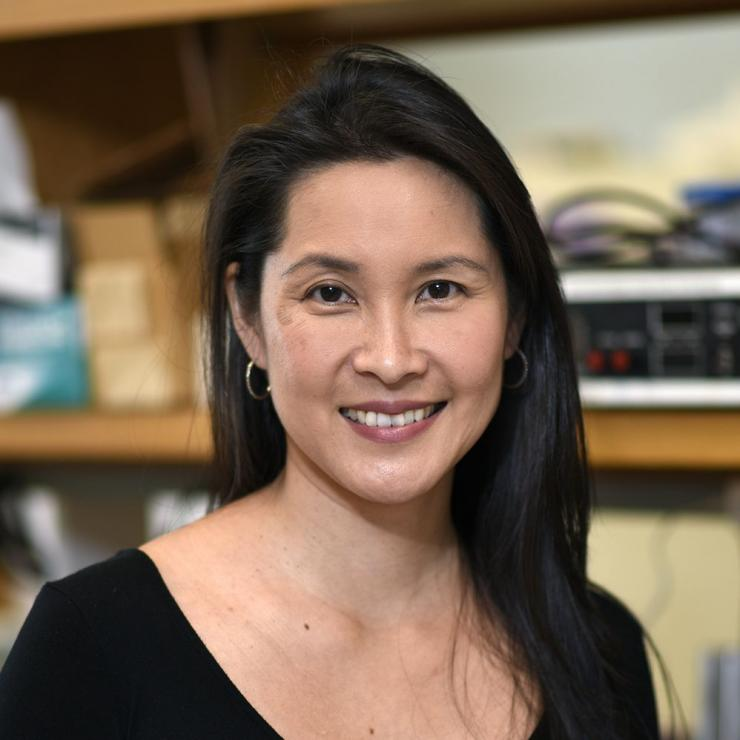 Dr. Jeannie Chin, associate professor of neuroscience at Baylor College of Medicine.