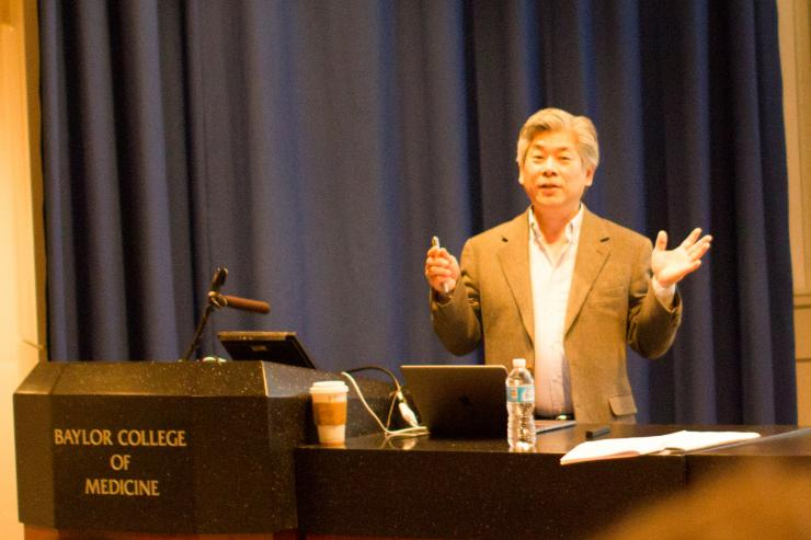 """Rick Morimoto, Ph.D. (Professor in the Department of Molecular Biosciences, Northwestern University, Chicago, IL) presents at the Frontiers of Aging Seminar, """"The Biology of Proteostasis in Aging and Disease"""""""