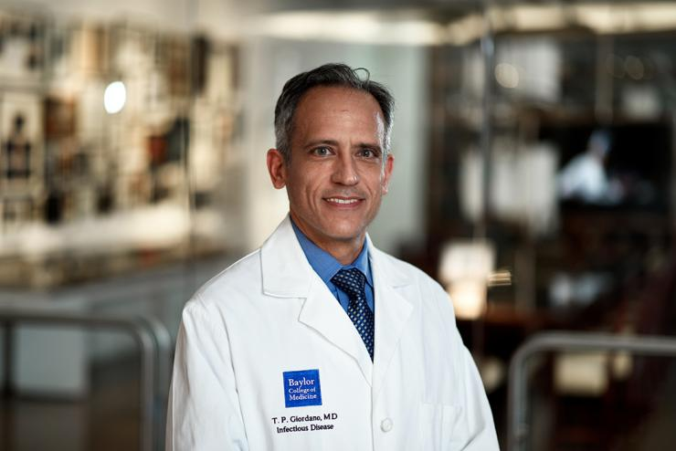 Vice Chair for Faculty and Staff Development, Thomas Giordano, M.D., M.P.H.