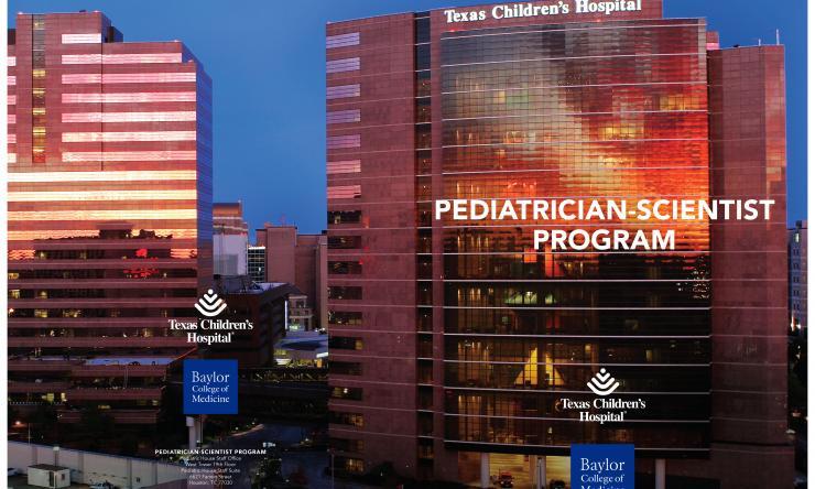 Pediatrician-Scientist Program Brochure