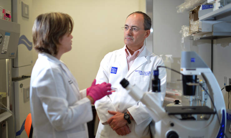 Dr. Matthew Ellis, professor and director of the Lester and Sue Smith Breast Center at Baylor College of Medicine.