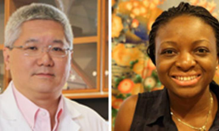 Dr. Brendan Lee and Adentutu Taiwo Egunsola