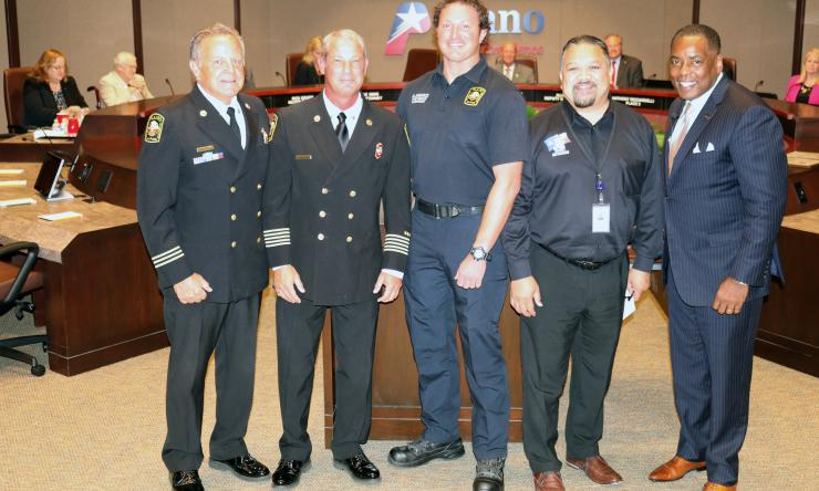 Plano City Council Recognition of Plano Fire and Rescue